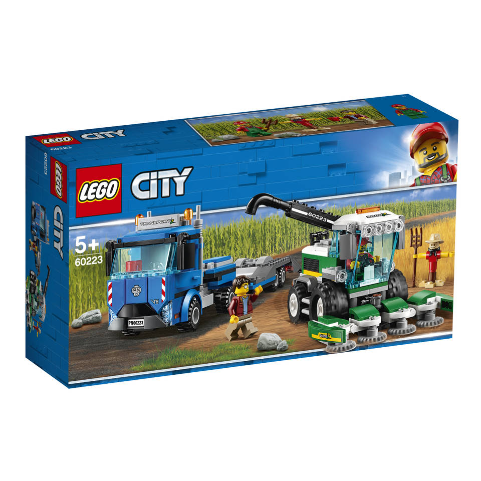 LEGO City maaidorser transport 60223