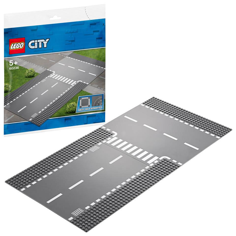 LEGO City rechte en t-splitsing 60236