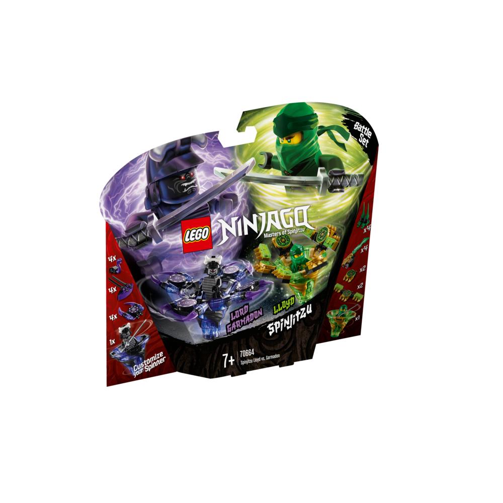 LEGO Ninjago Spinjitzu Lloyd vs Garmadon 70664