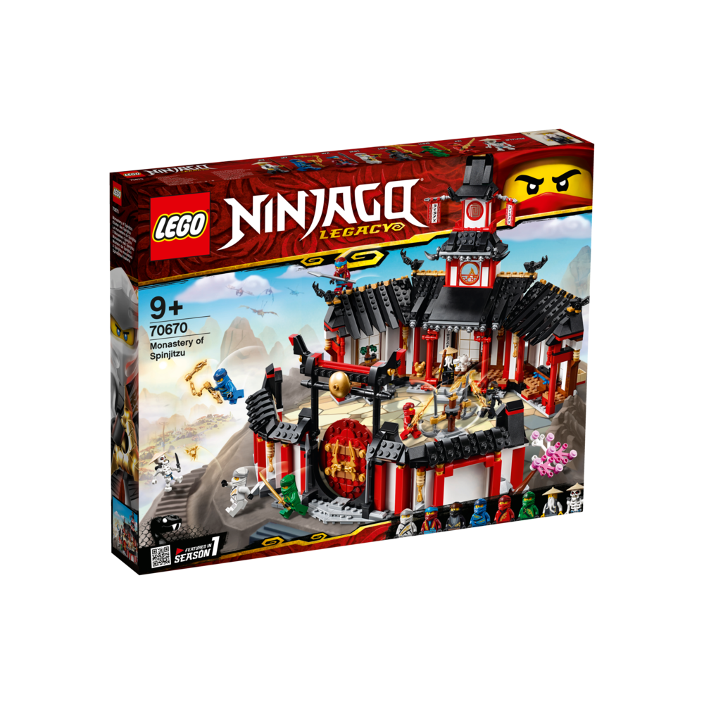 LEGO Ninjago het Spinjitzu klooster 70670