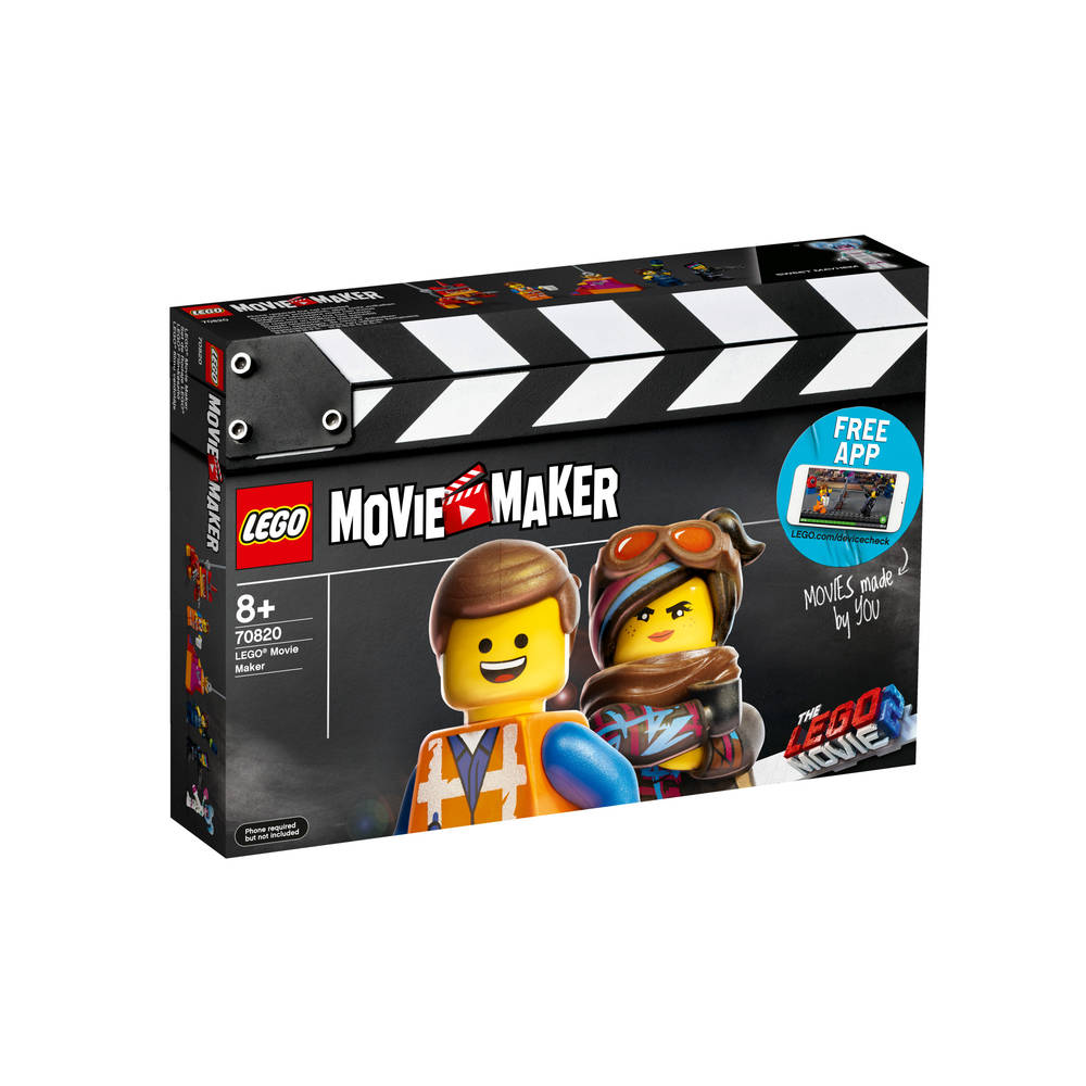 LEGO The LEGO Movie 2 movie maker 70820