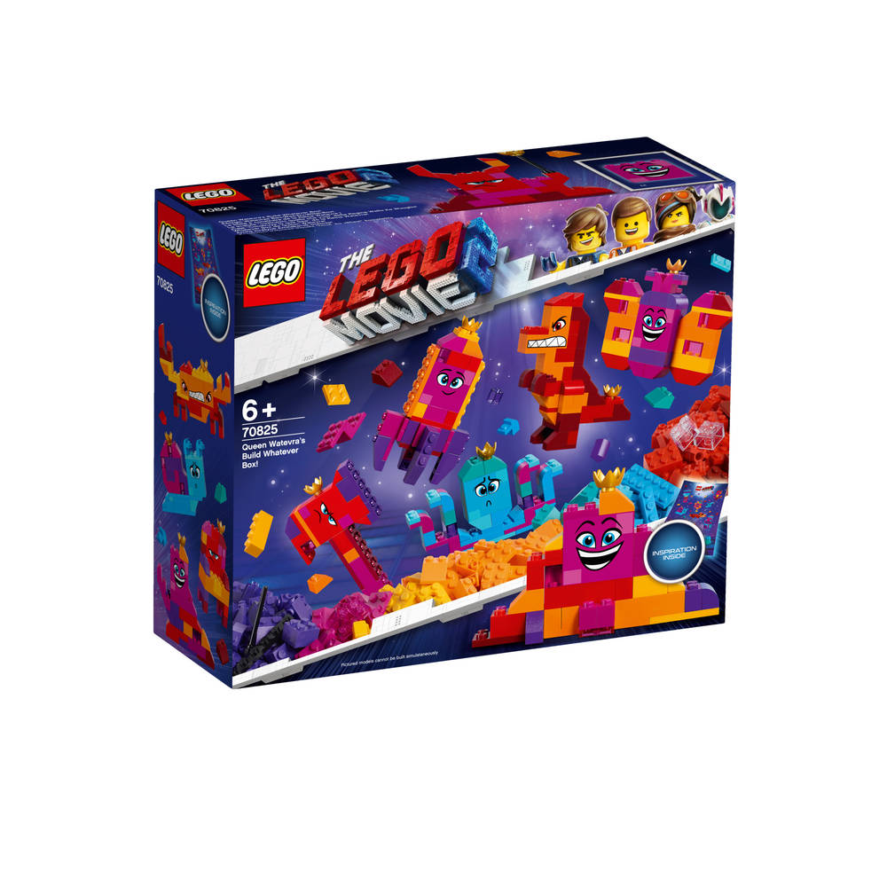 LEGO The LEGO Movie 2 koningin Wiedanook Watdanook's bouw iets doos 70825