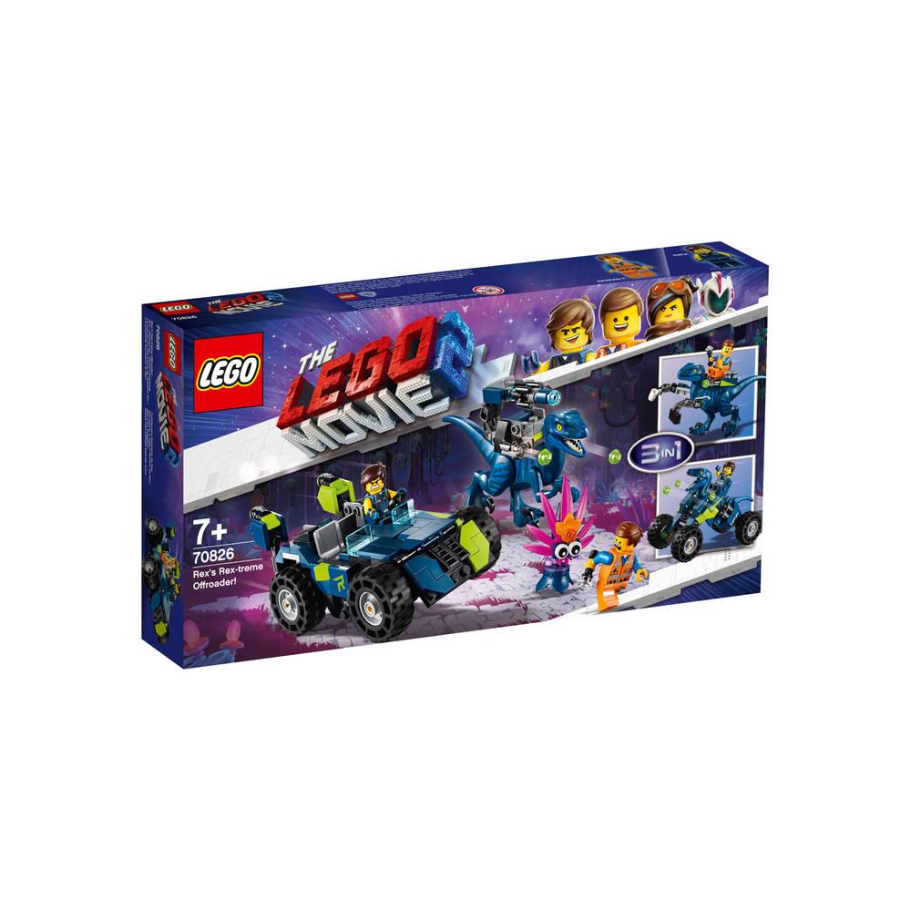 LEGO The LEGO Movie 2 Rex's Rex-treme offroader 70826