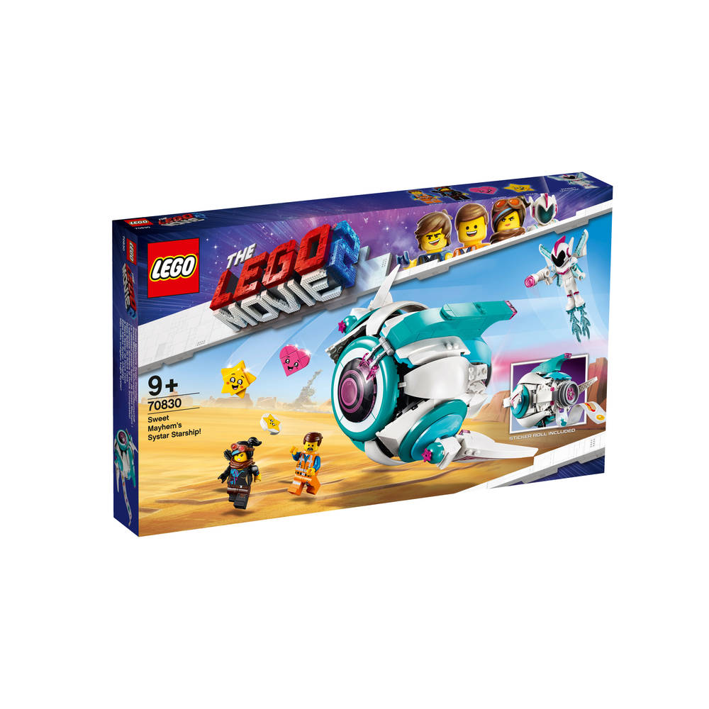 LEGO The LEGO Movie 2 Lieve Chaos' Systar ruimteschip 70830