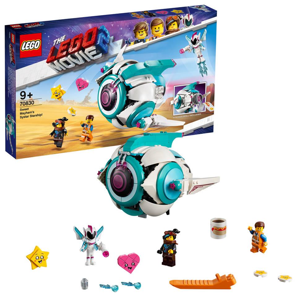LEGO The LEGO Movie 2 Lieve Chaos' Systar ruimteschip 70830