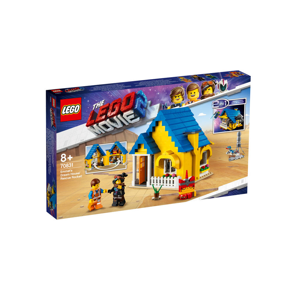 LEGO The LEGO Movie 2 Emmets droomhuis/reddingsraket 70831