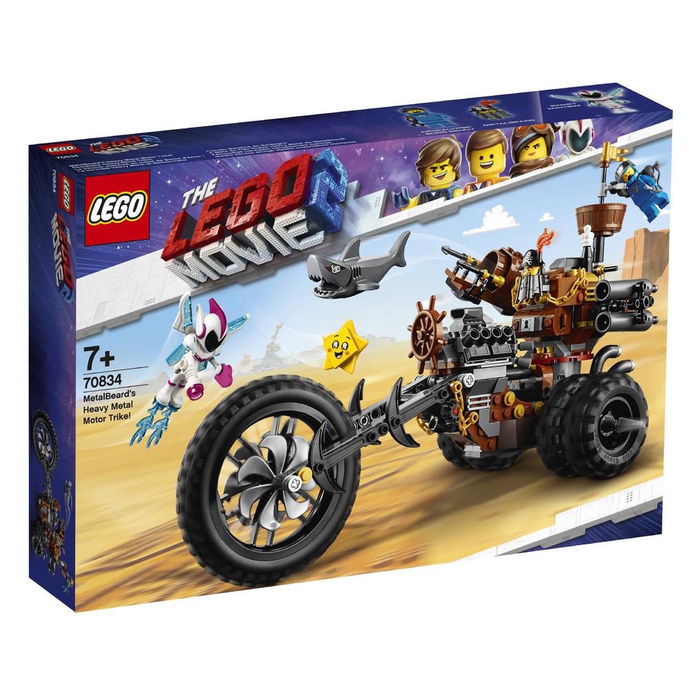 LEGO The LEGO Movie 2 Metaalbaards heavy metal trike 70834