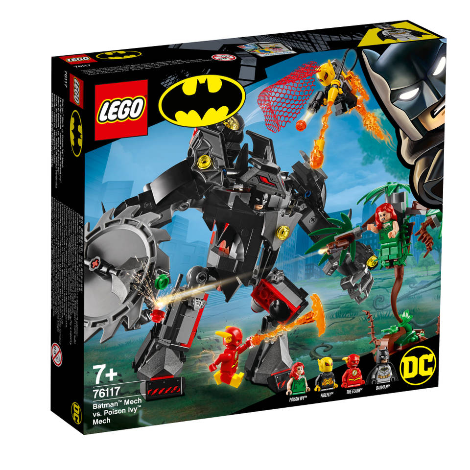 LEGO DC Super Heroes Batman mecha vs. Poison Ivy mecha 76117