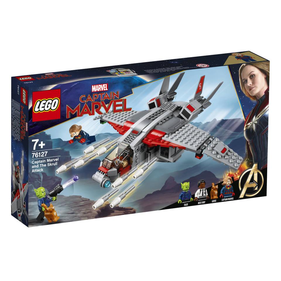 LEGO Marvel Super Heroes Captain Marvel de aanval van de Skrulls 76127