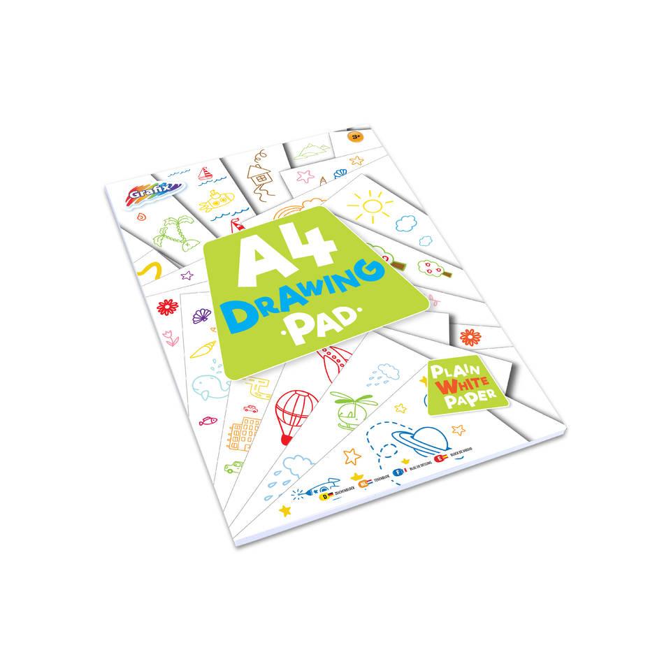 A4 tekenblok - 60 bladzijdes