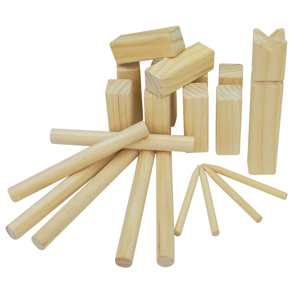 Playfun Kubb game