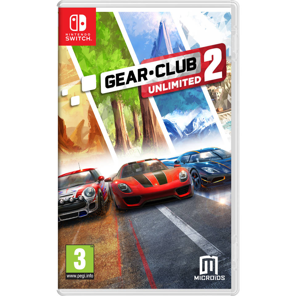 Nintendo Switch Gear.Club Unlimited 2