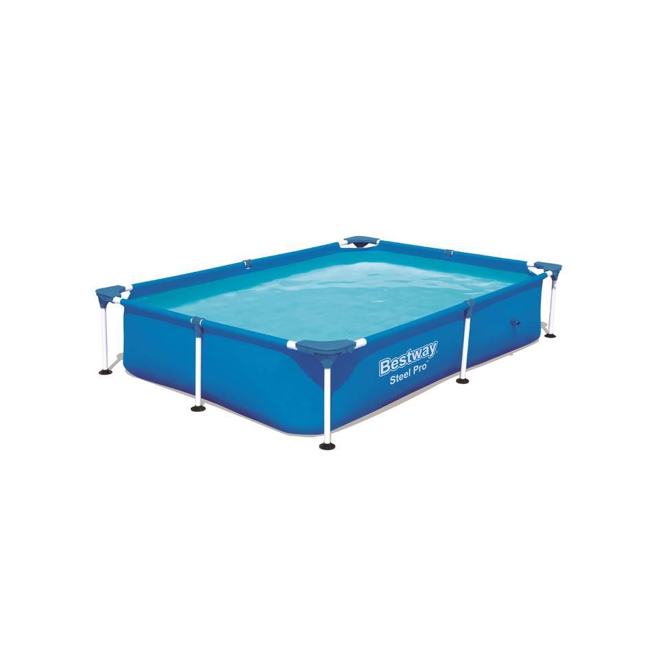 Bestway Passaat frame zwembad rechthoek - 221 x 150 x 43 cm