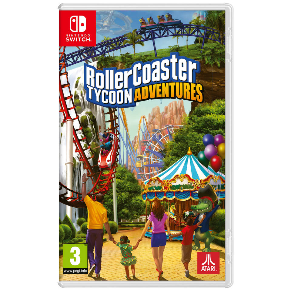 Nintendo Switch Roller Coaster Tycoon Adventures