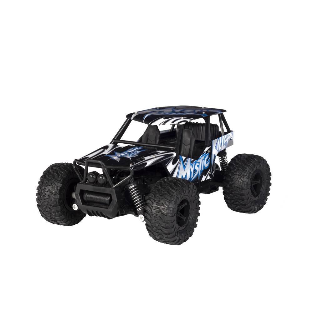 Wonky Cars Off Road Rider auto - blauw