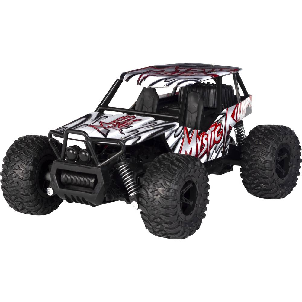 Wonky Cars Off Road Rider auto - rood