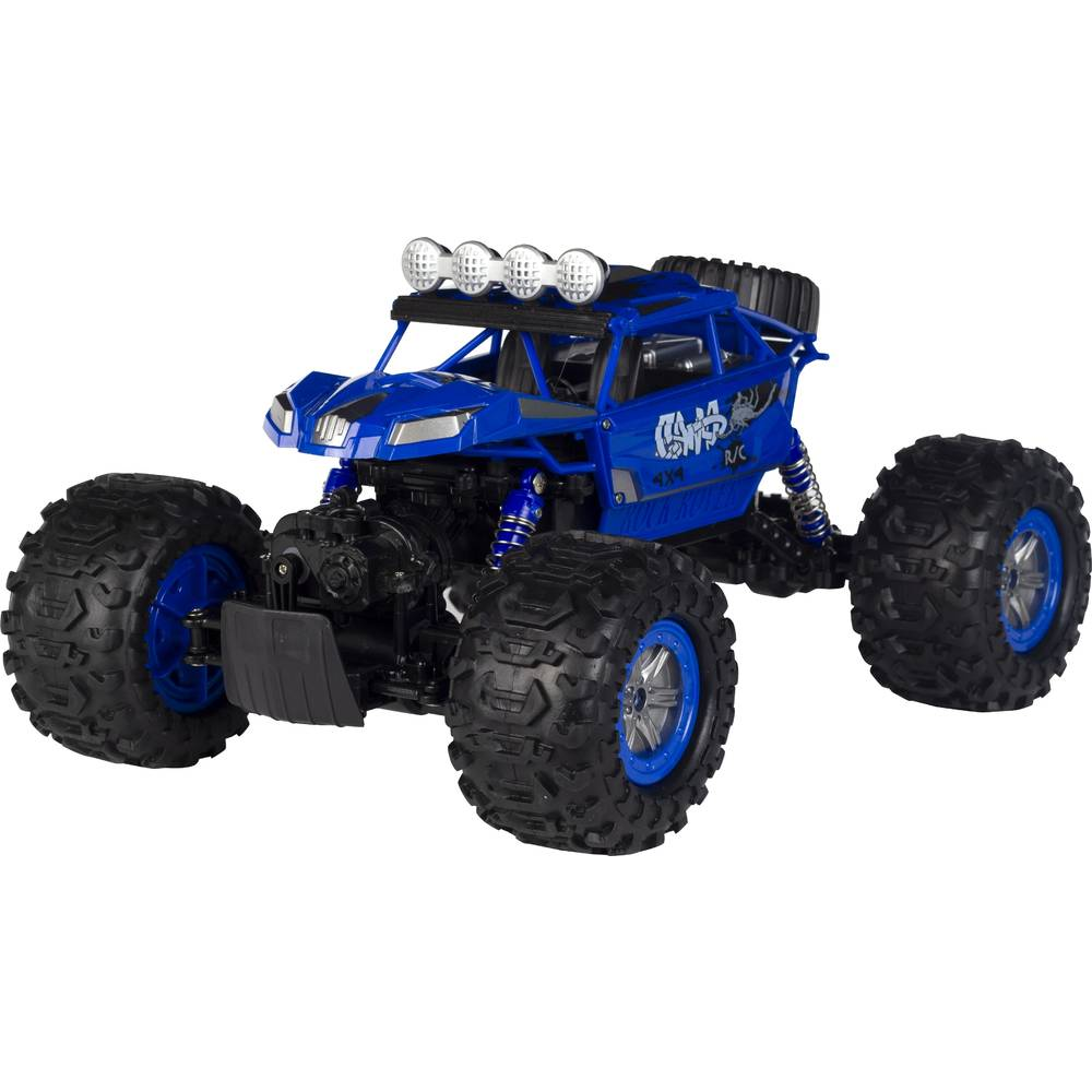Wonky Cars Amphi Crawler - blauw