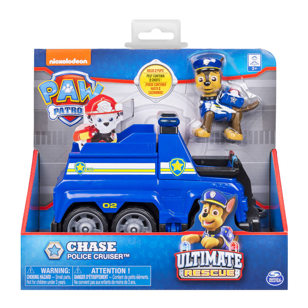 PAW Patrol Ultimate Rescue themavoertuig Chase