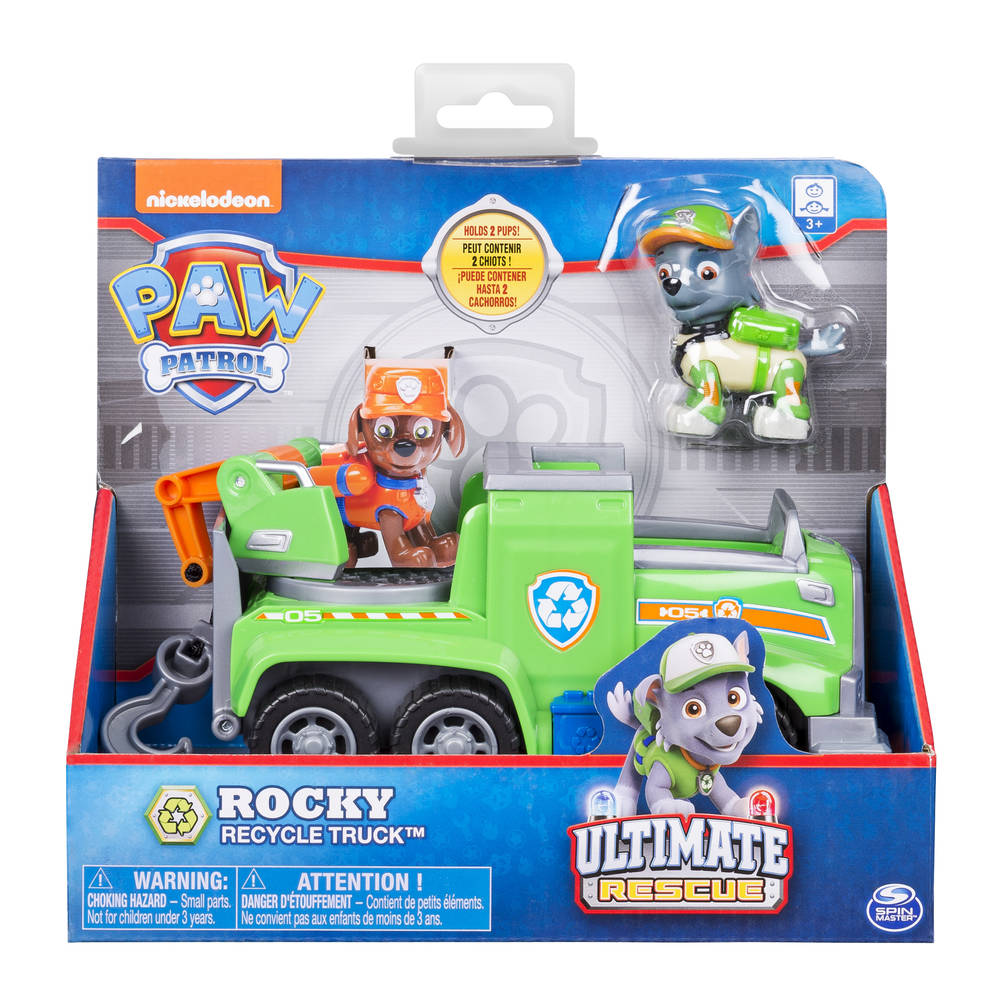 PAW Patrol Ultimate Rescue themavoertuig Rocky