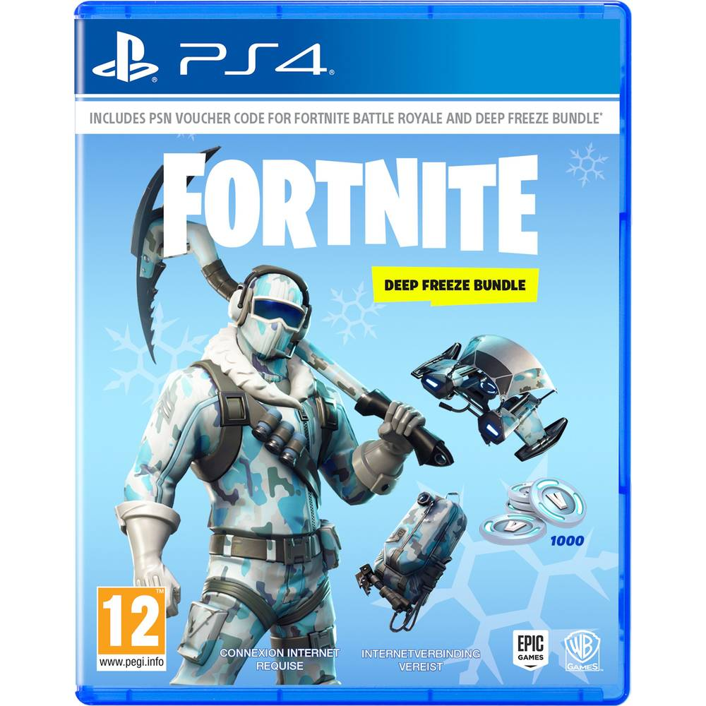 PS4 Fortnite Deep Freeze bundel