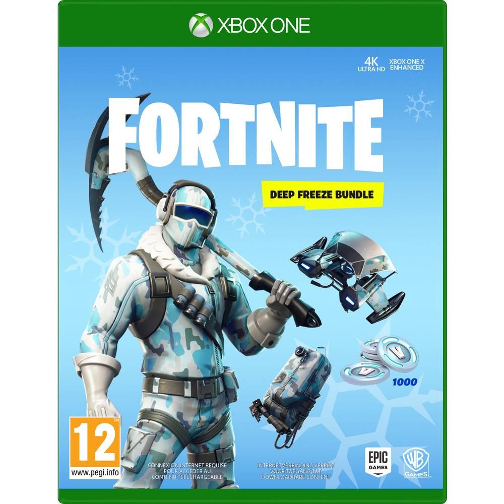 Xbox One Fortnite Deep Freeze bundel