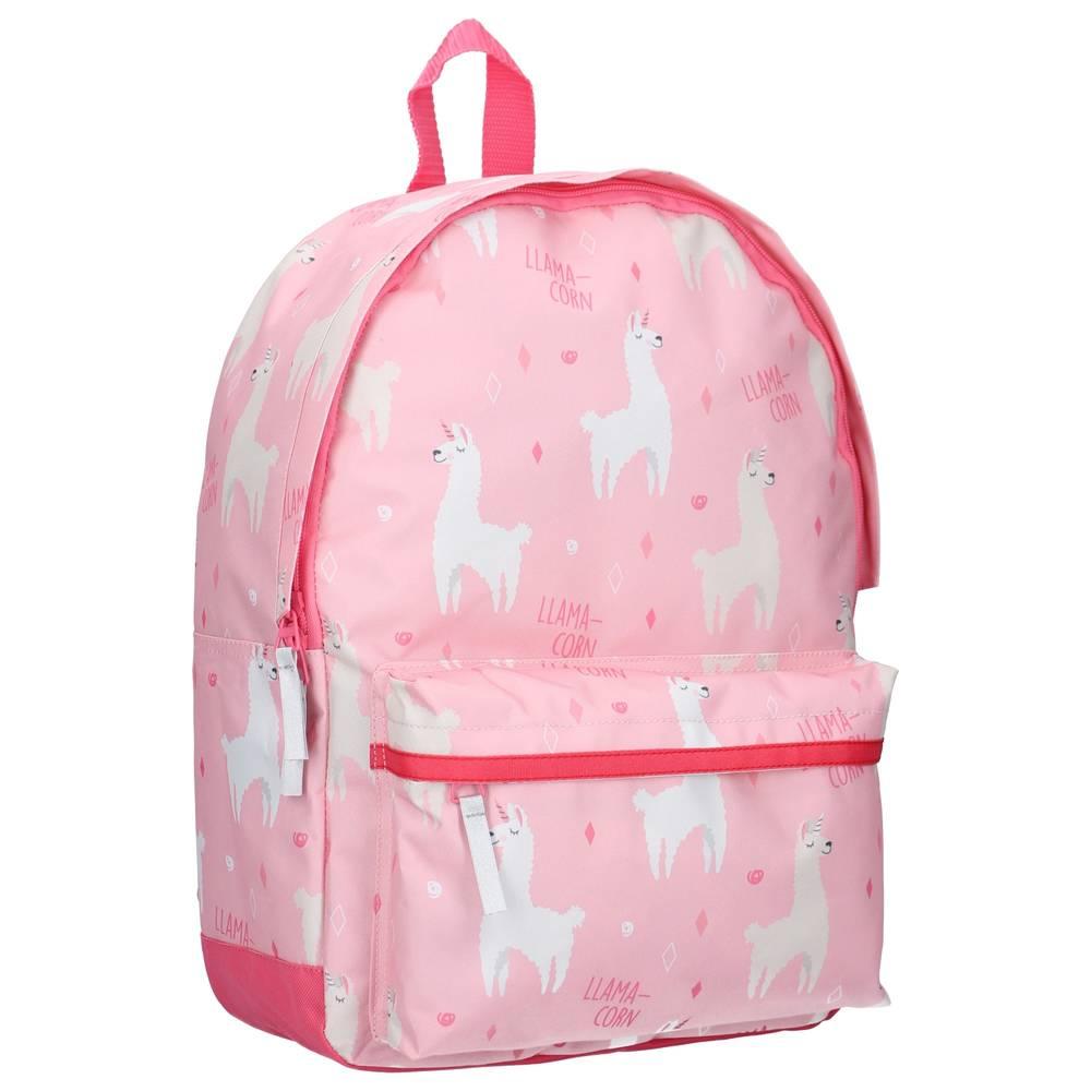 Rugzak alpaca - roze