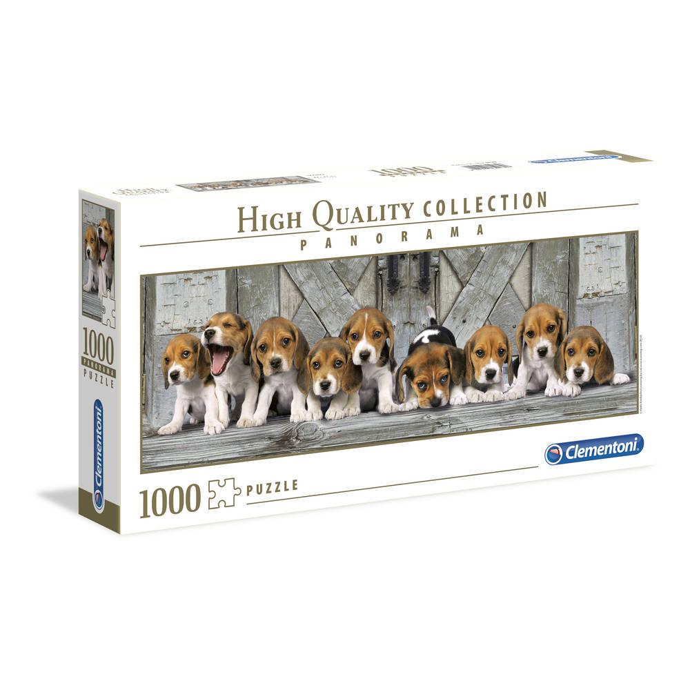 Clementoni puzzel Beagles - 1000 stukjes