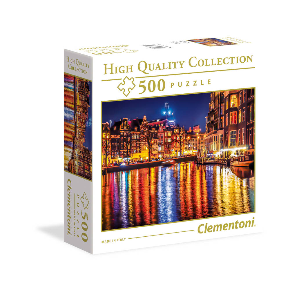 Clementoni puzzel Amsterdam - 500 stukjes
