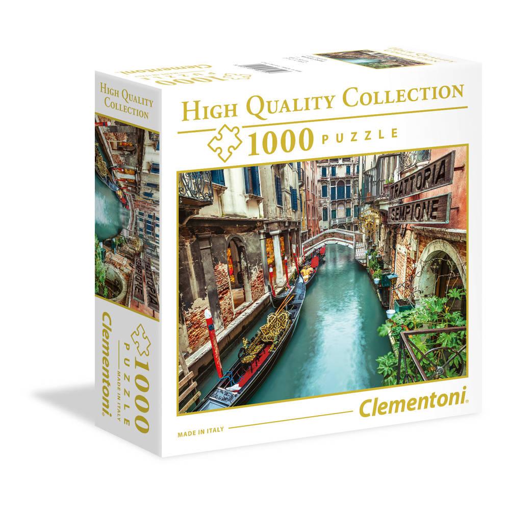 Clementoni puzzel Venetië kanaal - 1000 stukjes