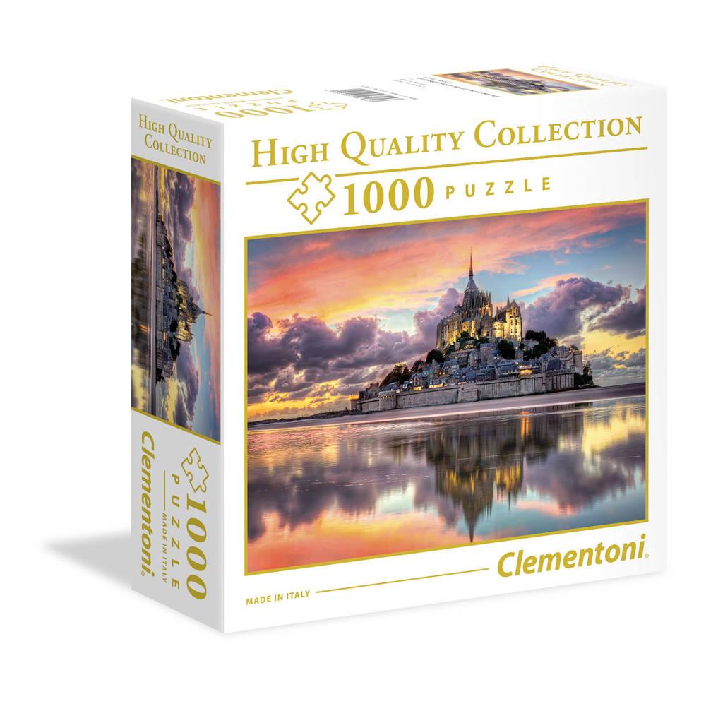 Clementoni puzzel prachtige Mont Saint-Michel - 1000 stukjes