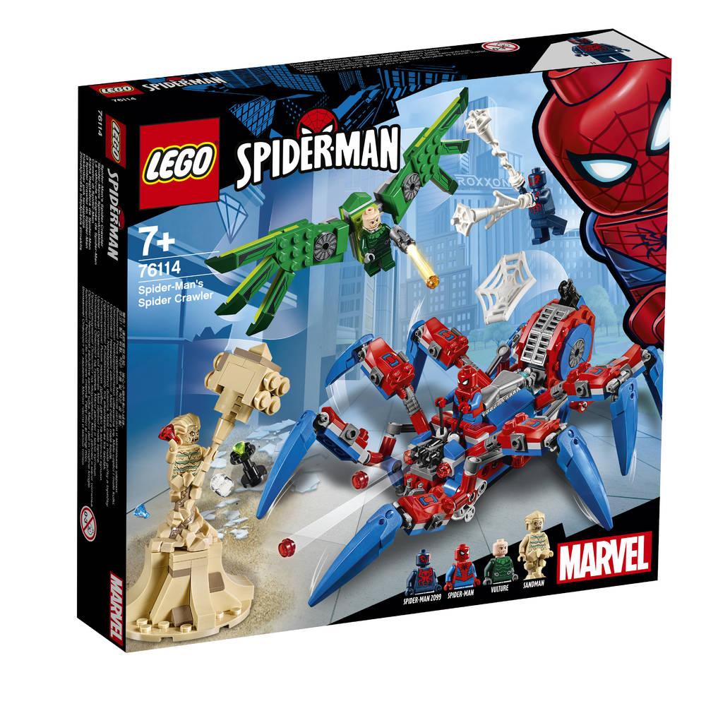 LEGO Marvel Super Heroes Spider-Man's spidercrawler 76114
