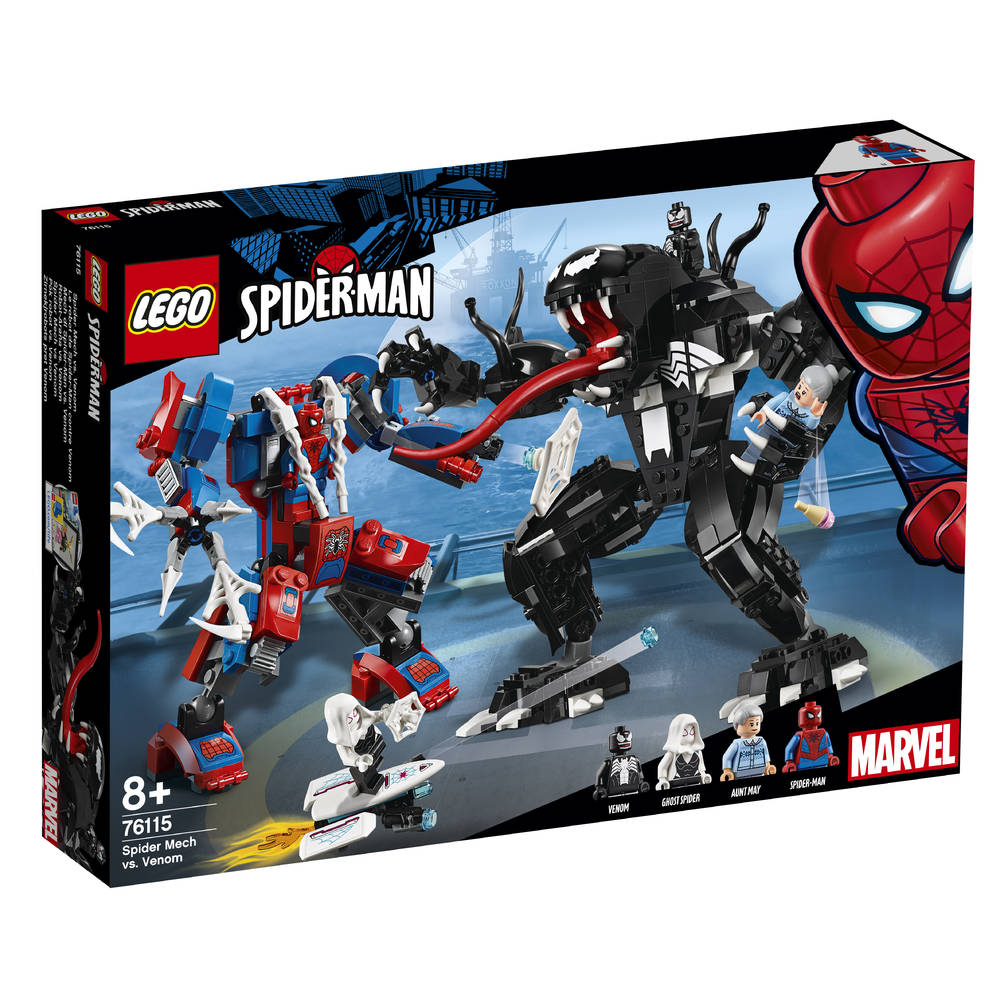 ​LEGO Marvel Super Heroes Spider Mecha vs. Venom 76115