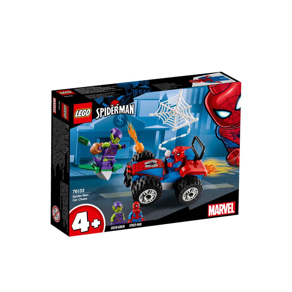 LEGO Marvel Super Heroes Spider-Man auto achtervolging 76133