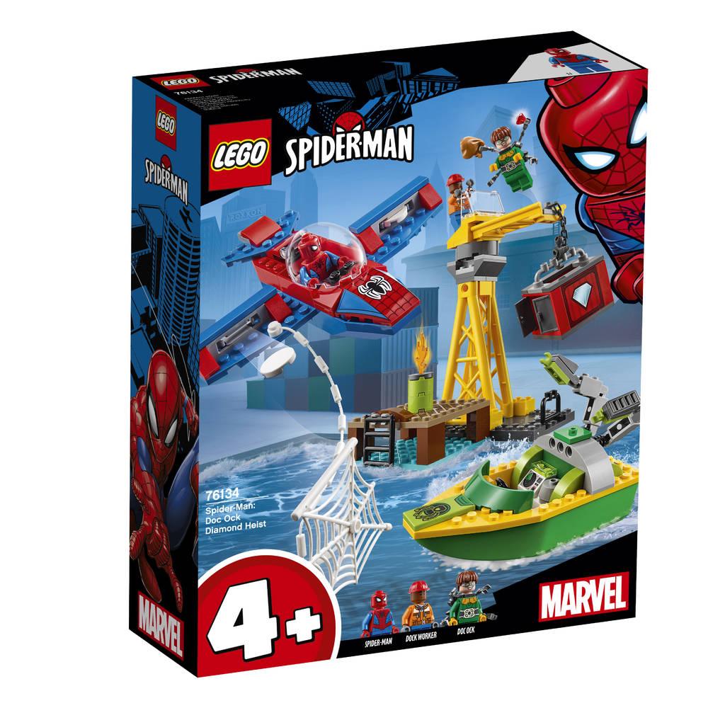 LEGO Marvel Super Heroes Spider-Man: Doc Ock diamantroof 76134