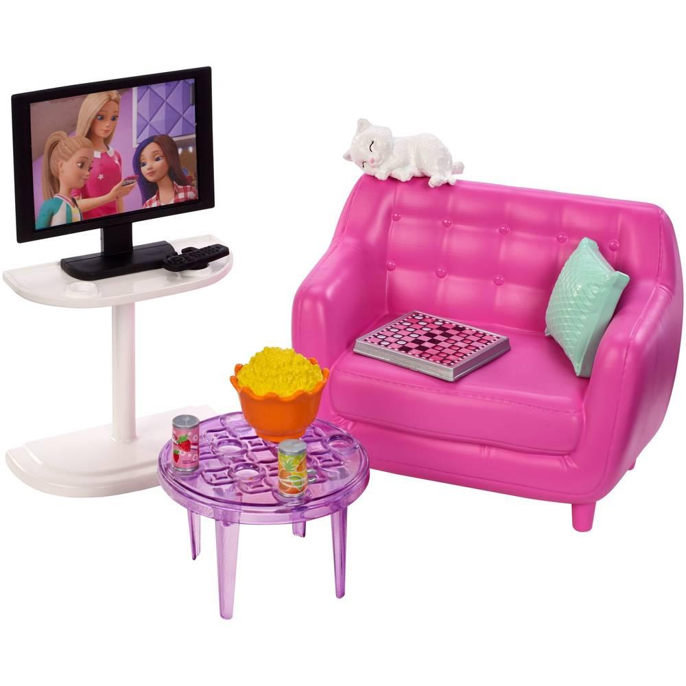 Barbie meubels en accessoires filmavond