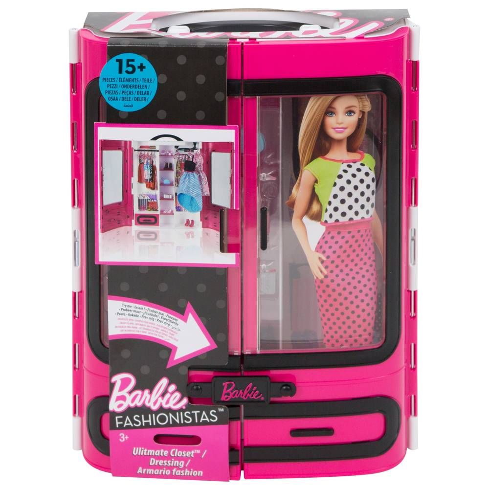 Barbie fashionistas ultieme kledingkast