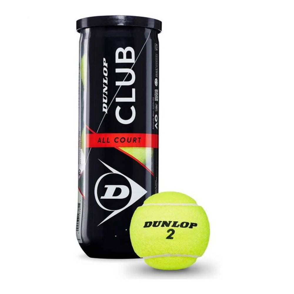 Dunlop Club All Court tennisbalset - 3 stuks
