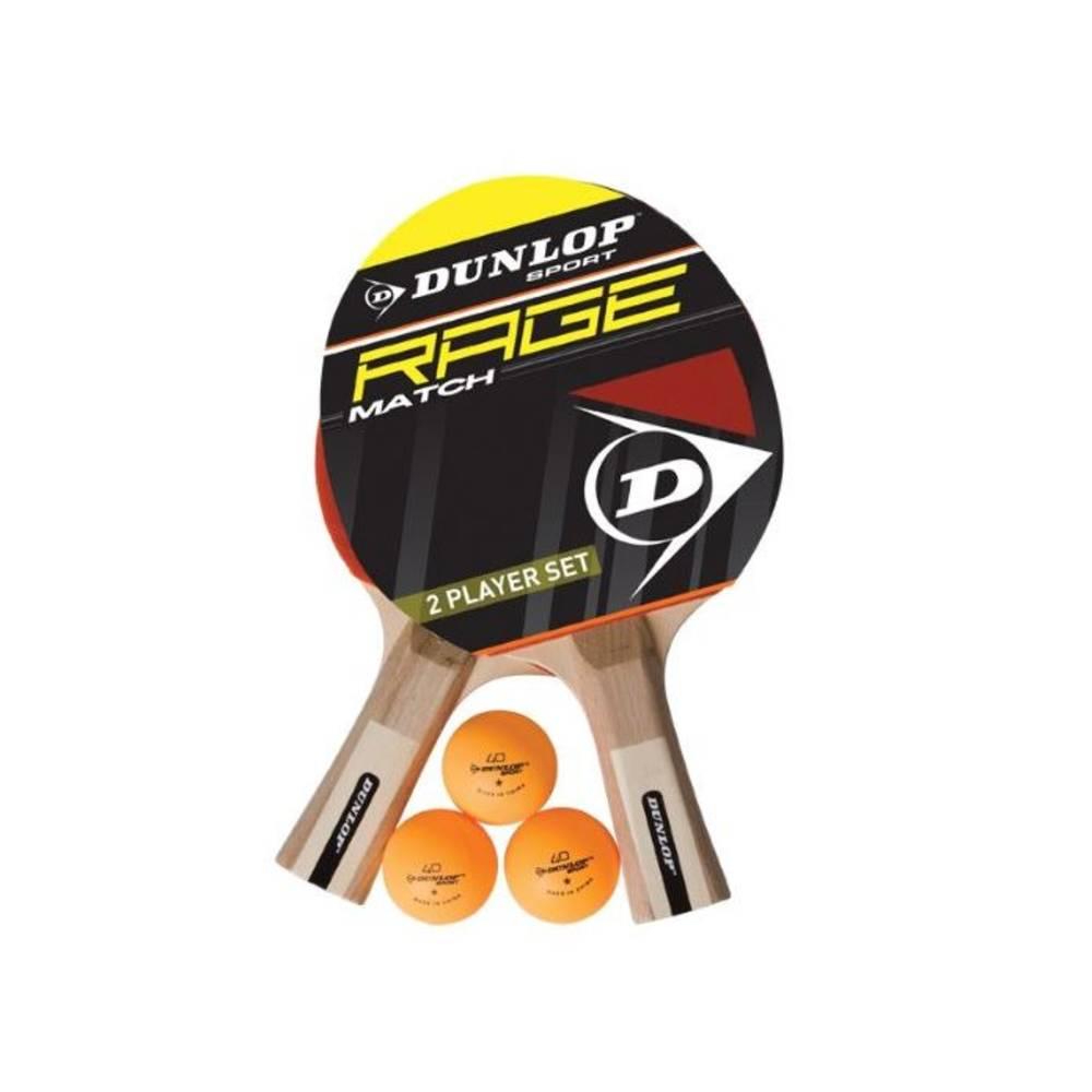 Dunlop AC Rage Match 2-spelers tafeltennisset