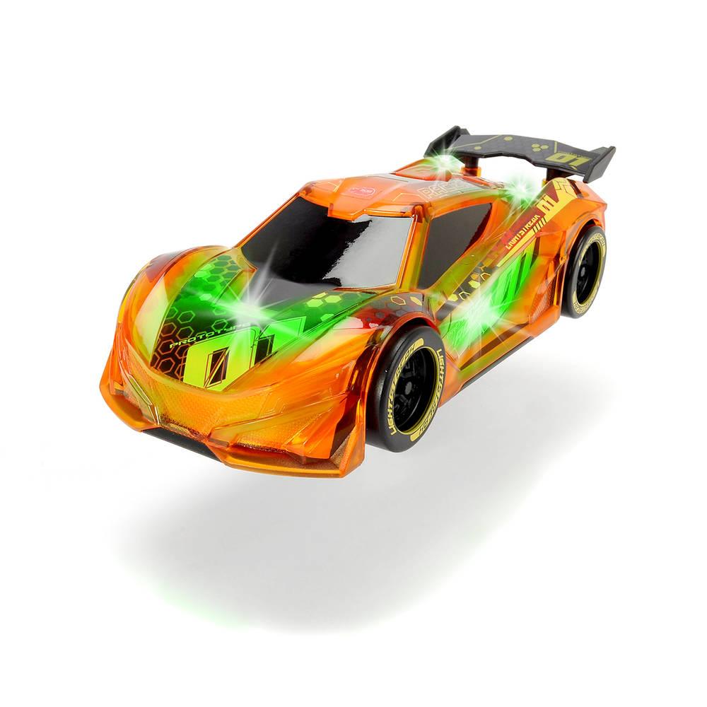 Dickie Toys auto Lightstreak Racer - 20 cm - oranje