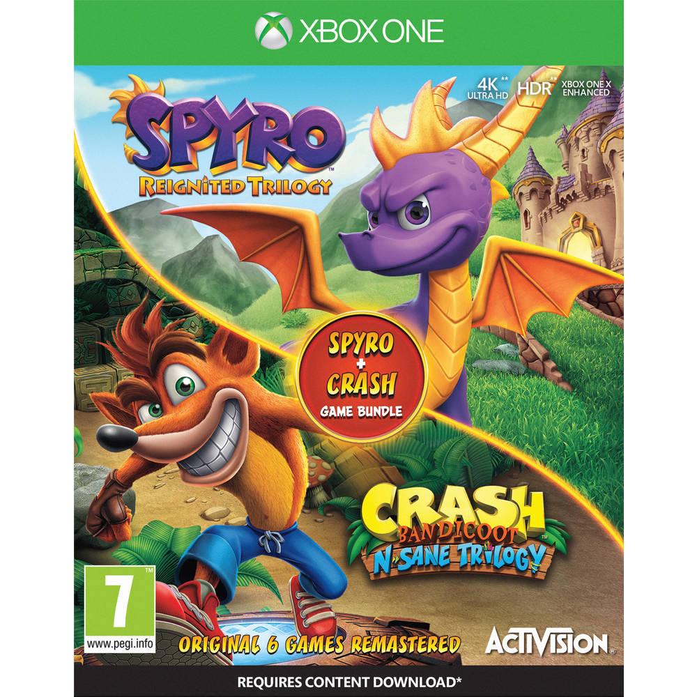 Xbox One Crash Bandicoot N Sane Trilogy + Spyro Reignited Trilogy