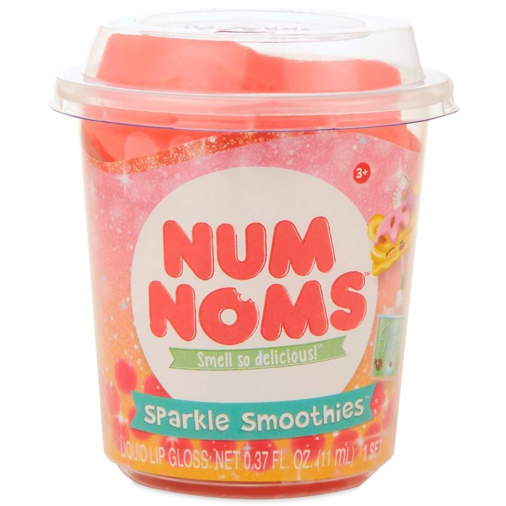 Num Noms sparkle smoothies lipgloss