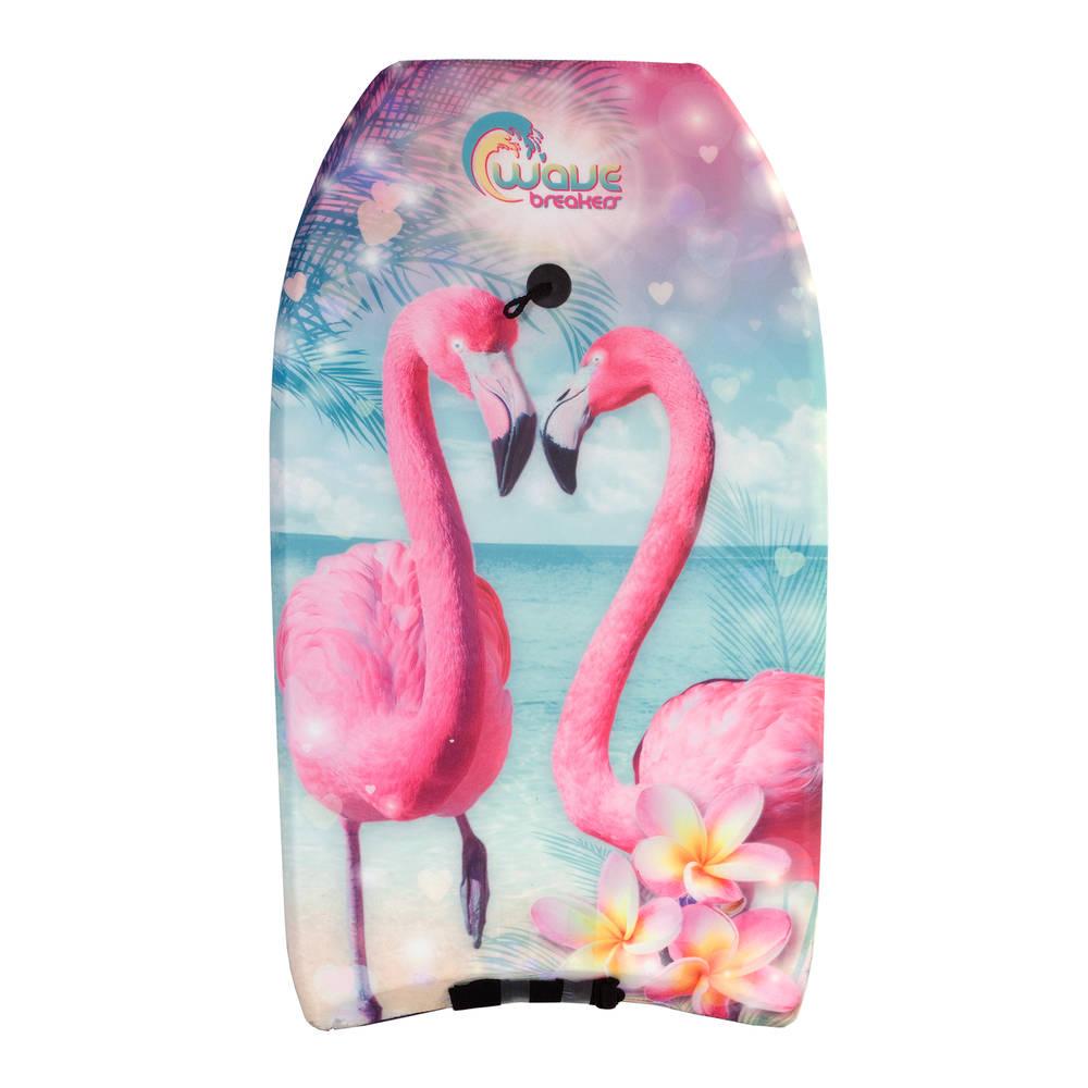 Bodyboard flamingo - 83 cm