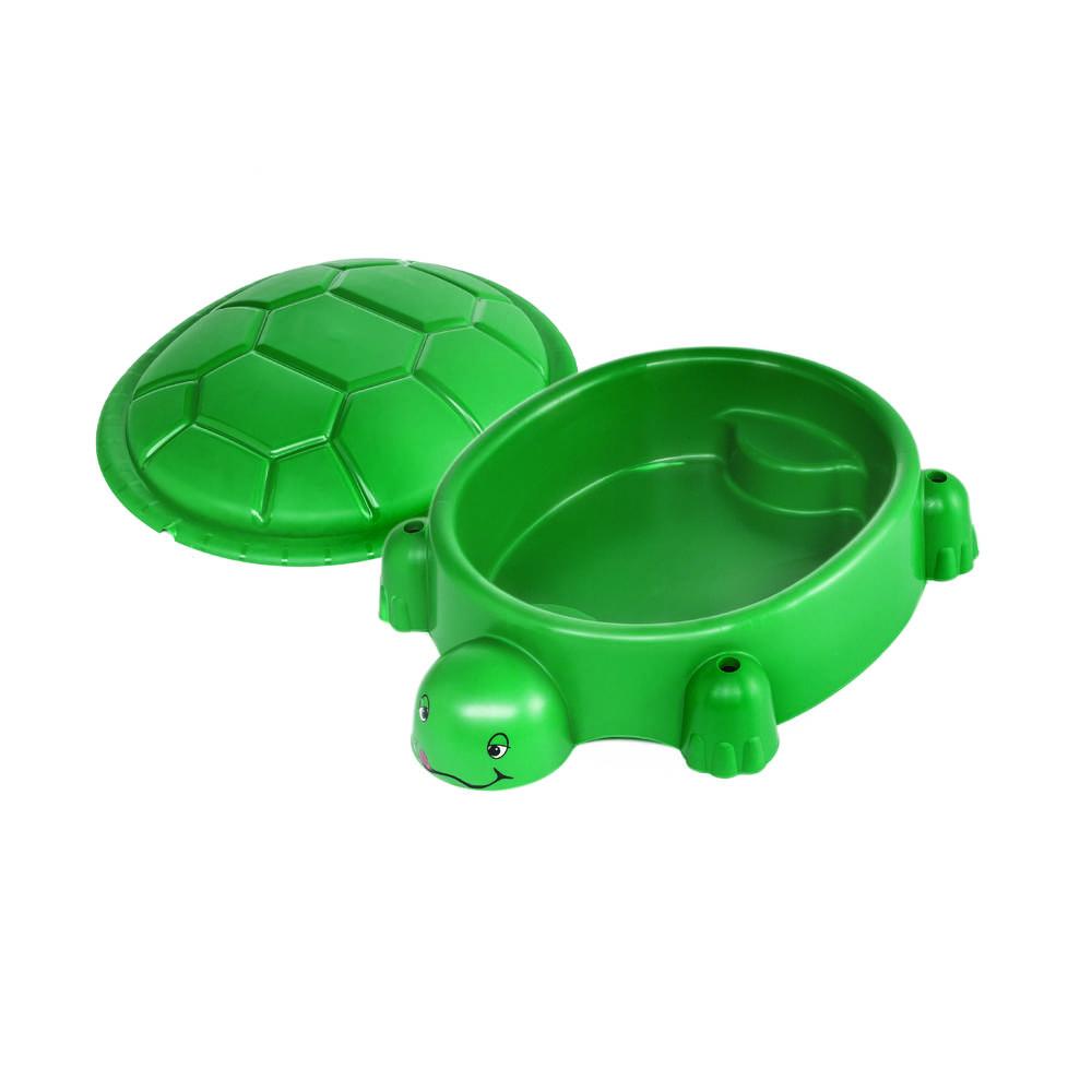 Zandbak schildpad met deksel