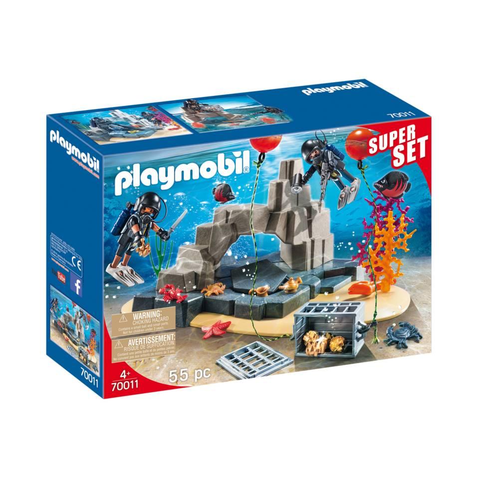PLAYMOBIL City Action SuperSet SIE onderwatermissie 70011