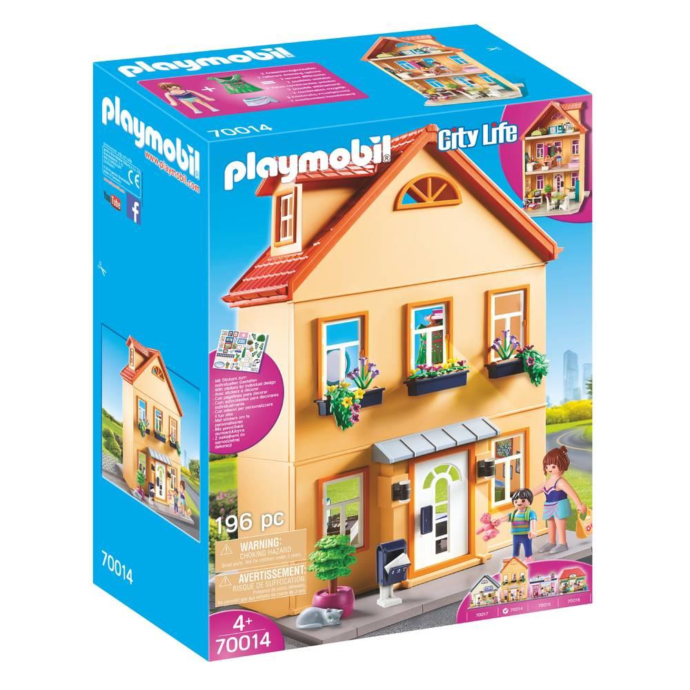 PLAYMOBIL City Life mijn huis 70014