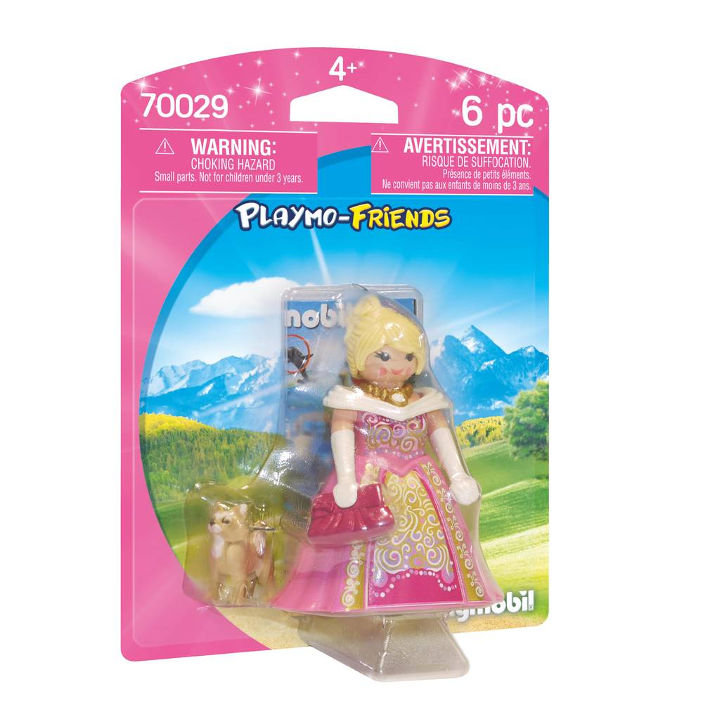PLAYMOBIL Playmo-Friends prinses met hond 70029