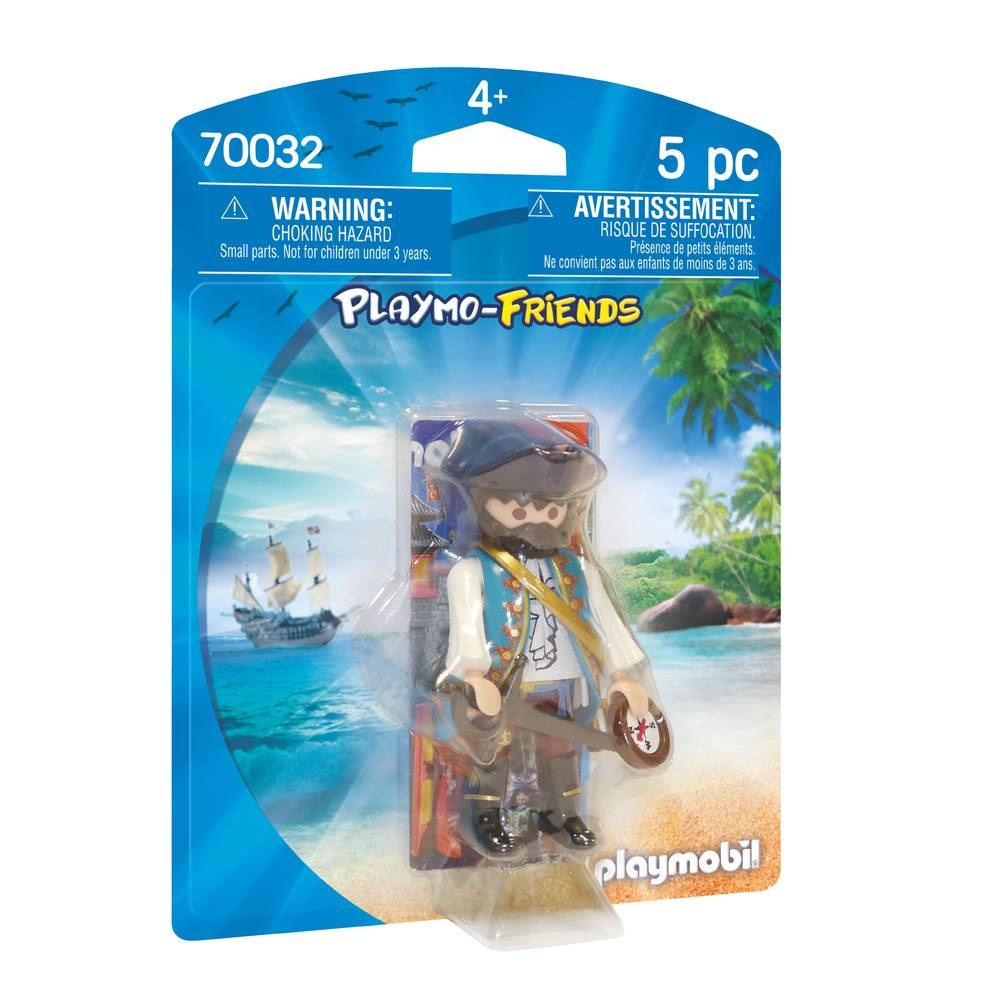 PLAYMOBIL Playmo-Friends piraat met kompas 70032
