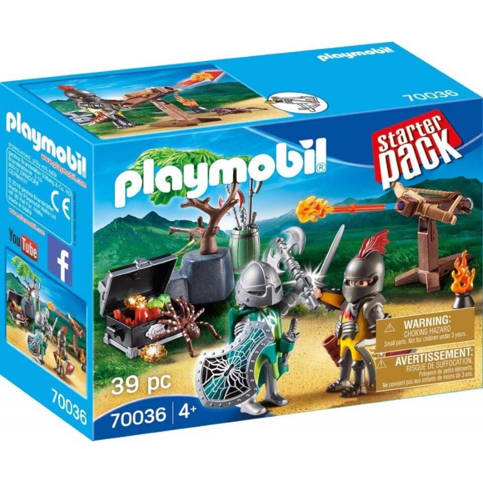 PLAYMOBIL starterpack ridderduel 70036