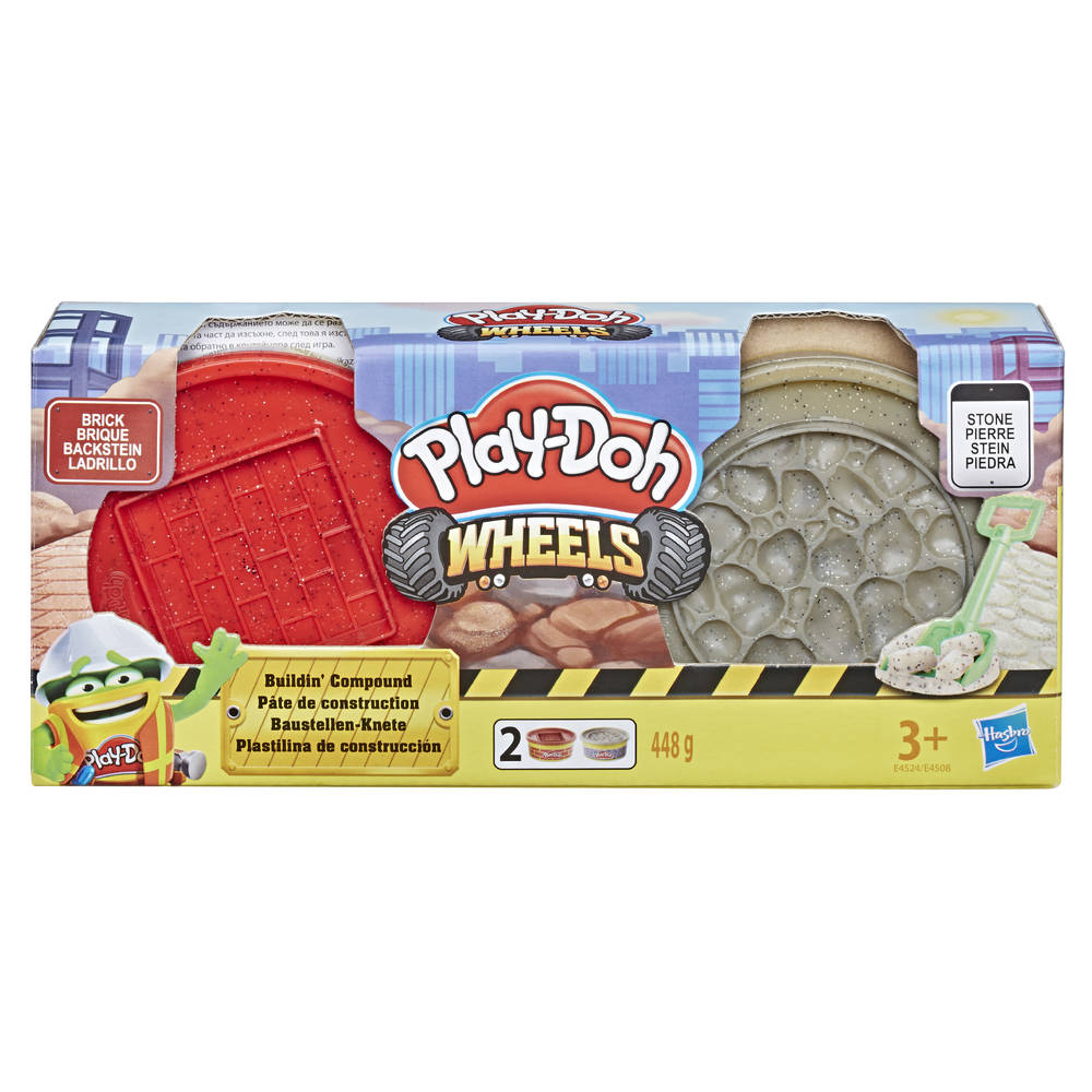 Play-Doh Wheels constructie