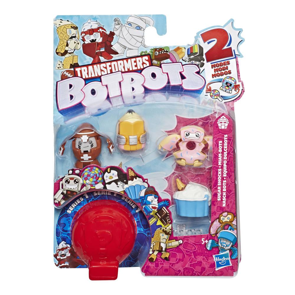 Transformers BotBots Sugar Shocks set van 5